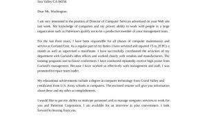Computer Networking Cover Letter Director Of Computer Services Network Engineer Cover