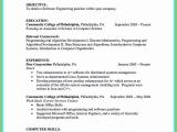 Computer Science Student Resume No Experience 16 Resume for Students with No Experience Contract