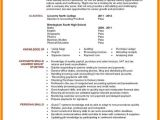 Computer Science Student Resume No Experience Computer Science Resume No Experience Elegant Resume for