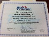 Concealed Carry Certificate Template I Successfully Completed My Ohio Concealed Carry Weapon