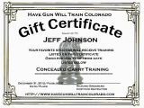 Concealed Carry Certificate Template Nra Certificate Template Training Course Certificate
