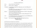 Concert Sponsorship Proposal Template Template Concert Sponsorship Proposal Template