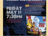 Concession Stand Flyer Template Outdoor Movie Night Flyer Movie On the Green Poster