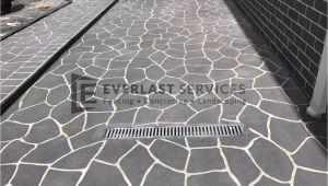 Concrete Templates Stencils Stencil Concrete Melbourne Brick Stenciled Pattern Cost
