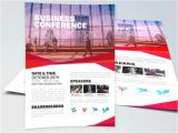 Conference Brochure Template Free Graphicfy Flyers Mockups Brochures Photoshop Templates