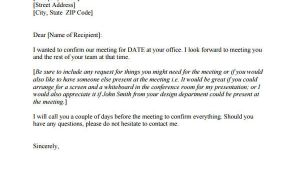 Conference Call Confirmation Email Template Template Request for A Meeting the Truth About Template
