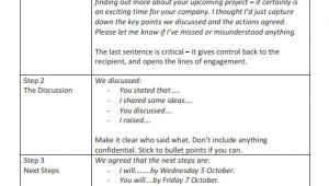 Conference Follow Up Email Template Follow Up Email Template 6 Premium and Free Download
