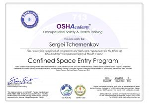Confined Space Certificate Template Confined Space Certificate Template Templates Resume