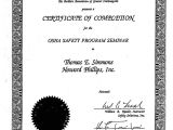 Confined Space Certificate Template Confined Space Training Certificate Template