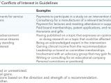 Conflict Of Interest Declaration Template G I N Principles for Conflicts Of Interest In Guidelines