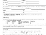 Conflict Of Interest Disclosure Template 9 Statement Of Interest Samples Sample Templates