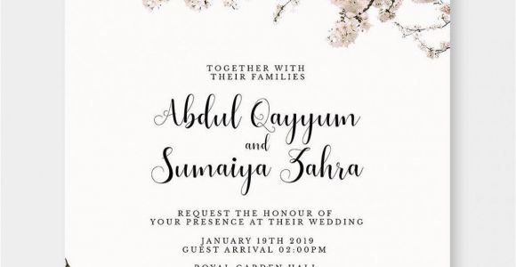 Congrats On Your Marriage Card Marriage Day Invitation Card Marriage Day Invitation Card
