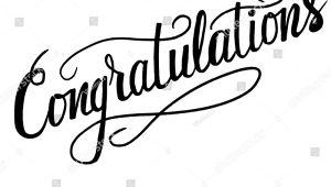 Congratulations Sign Template Congratulationstexttemplate Banner Card Vector