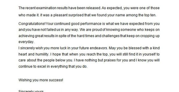 Congratulations Winner Email Template Sample Congratulation Letter 10 Free Documents Download