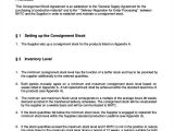 Consignment Stock Contract Template Simple Agreements