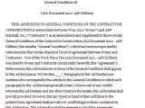 Construction Contract Addendum Template Addendum to the Contract for Construction Pdf