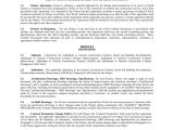 Construction Contract Addendum Template General Construction Contract In Word and Pdf formats