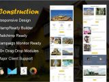 Construction Email Templates Construction Email Template Mailchimp Templates