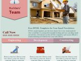 Construction Email Templates Construction Free HTML E Mail Templates