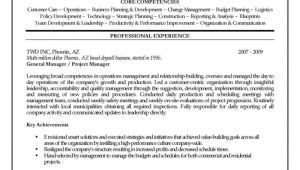 Construction Project Manager Resume Template Construction Project Manager Resume