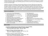 Construction Resume Template Word Construction Project Manager Resume Template Premium