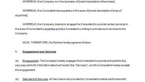 Consultant Contract Template Free Download 6 Consulting Contract Templates Free Word Pdf