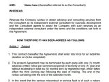 Consultation Contract Template Consulting Agreement 15 Pdf Doc Download