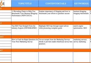 Content Calendar Template Hubspot the Complete Guide to Choosing A Content Calendar