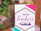 Content for Teachers Day Card Teacher S Day Card 3