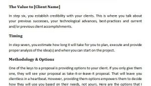 Content Marketing Proposal Template 19 Marketing Proposal Templates Sample Templates