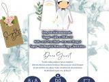 Contoh Background Id Card Keren Undangan Digital Syar I islam Undangan Pernikahan