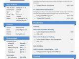 Contoh Resume Professional Contoh Cv Yang Menarik Resume Templates and Examples