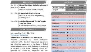 Contoh Resume Student Utp Contoh Resume Terbaik