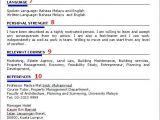 Contoh Resume Yang Profesional Koleksi Contoh Resume Lengkap Terbaik Dan Terkini Contoh