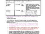 Contract Administration Plan Template Sample Contract Management Plan You Will Never Believe