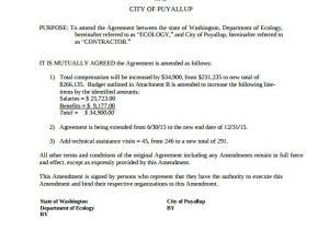 Contract Amendment form Template Contract Amendment Template 11 Download Documents In Pdf