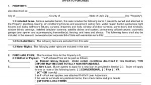 Contract for Buying A House Template Real Estate Purchase Agreement form Sample Image Gallery
