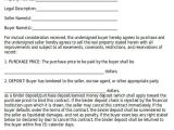 Contract for Buying A House Template Sample Home Sales Contracts 7 Examples In Word Pdf