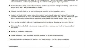 Contract for Safety Template 6 Safety Contract Templates Free Sample Example format