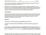 Contract for Sale Of Land Template 7 Land Contract forms Free Sample Example format