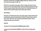 Contract for Sale Of Land Template Sample Land Contract Agreement 9 Examples In Word Pdf