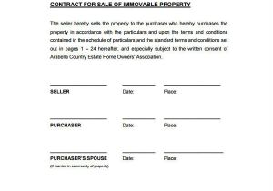 Contract for Sale Of Property Template 22 Sales Contract Templates Word Pages Free
