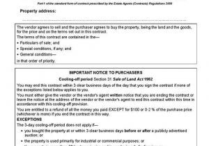 Contract for Sale Of Property Template Contract Of Sale Of Real Estate Lawyers Conveyancing