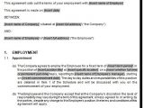 Contract Of Employment Template Australia Fixed Term Employment Employee Contract