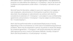 Contract Of Engagement Template Engagement Letter 3 Easy Steps