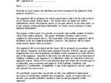 Contract Of Engagement Template Sample Engagement Letter