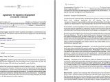 Contract Of Engagement Template Speaker Engagement Contract Free Sample Example form