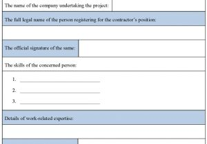 Contract Register Template Contract Register Template Free Full Version Free