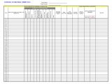 Contract Register Template Submittal Log Cms