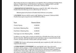 Contract Service Agreement Template Accounting Contract Make Your Accounting Agreement